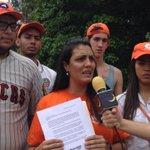 Desde Ramo Verde el equipo de @JVPMiranda exigieron el respeto de los #DDHH a @leopoldolopez http://t.co/qFizr3AKKv