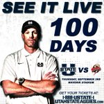 100 days until we kick off the 2015 season against SUU. RT if you will be in Maverik Stadium Sept. 3rd! #seeitlive http://t.co/HnA23lMW8N