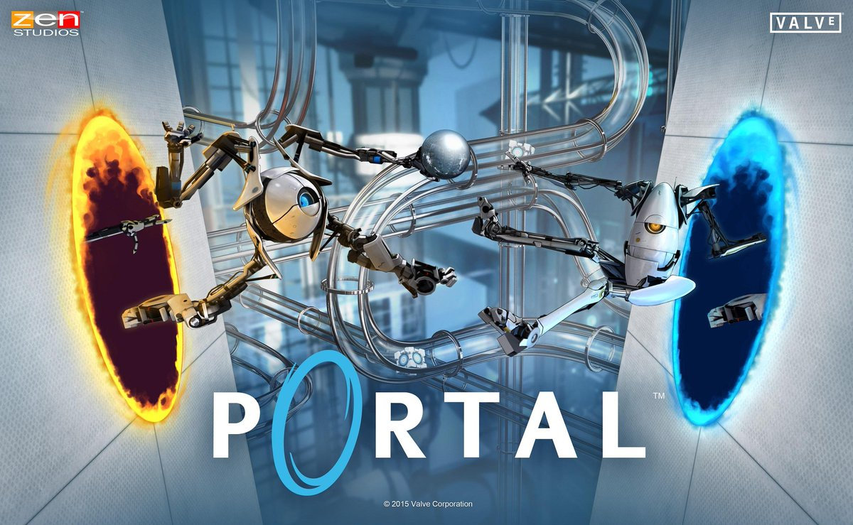 Now you're thinking with Portals! Portal Pinball for Zen Pinball 2 is now available on @PlayStation in North America! http://t.co/4tBQWZjTU7