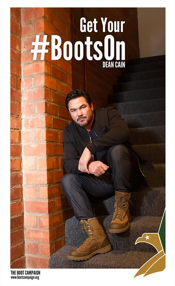 Pretty stoked that @RealDeanCain got his @BootCampaign #BootsOn with us. Welcome to the BC Family, Dean! <3 http://t.co/VMkcxMC4l7