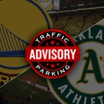 Due to dual events with the @warriors (6PM) & @Athletics (12:35) tomorrow, it is highly recommended to take @SFBART! http://t.co/xq26tQR0AP