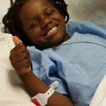 Tyreek was shot Friday night, while playing outside. Bullet still lodged in spine. Showing amazing strength. #chsnews http://t.co/6tZYp49VjE
