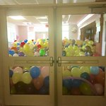 Also while you were in traffic, the kids at Hanahan High filled their front office with balloons. #chs http://t.co/xlEn5fGJNP