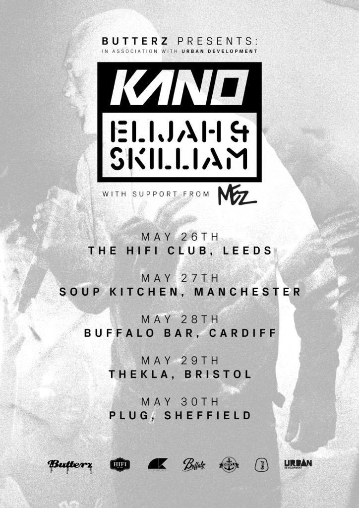 Touched down in Leeds wid @UncleMez @Jdotnotts @Kyeza_ get down to Hi Fi Club if ya in Leeds Kano Tour #28 http://t.co/z0ZDoLBL3O