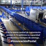 Presidente @JuanManSantos inaugura en @472Colombia central de tratamiento postal única en el país #InnovaciónPostal http://t.co/HuOF7EG1b0