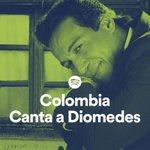 Spotify corona a Diomedes Díaz como Rey de los Cumpleaños. GRACIAS COLOMBIA!!!. http://t.co/H3daiscJrI