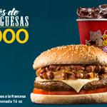 #ConGanasDe una rica hamburguesa #MartesDeHamburguesas en @MisCarnesP MONTAÑERA en combo con papas y bebida X $9.900 http://t.co/5oB2ZHIHpA