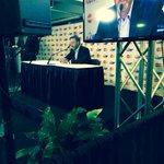 Patrick Roy en conférence de presse avant la soirée hommage en son honneur http://t.co/V2l1hyQh3Q