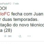 Juan Carlos Osorio se va para @SaoPauloFC http://t.co/NGzeNBYaF3 #EstáPasando @nacionaloficial http://t.co/0saBNaku7e