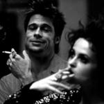 Хелена Бонем Картер и Брэд Питт на съемках «Бойцовского клуба», 1998 http://t.co/7EbEazVYBk