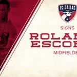"NEWS: @FCDallas signs Panamanian international midfielder @rolando_escobar --> http://t.co/FPAB1YKfjc http://t.co/Cmy0WcFjSZ"""