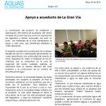 Comunidad de La Gran Vía apoya proyecto de acueducto. @LINAPALMA @EKALVARADO18 @jualguz68 @HoyDiarioMag @rcnlaradio http://t.co/wyJmcTZTQf