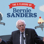 Bernie Sanders is kicking off his campaign: http://t.co/k7zzoKeFSS Check out the 5 flavors of Bernie Sanders http://t.co/AjAK9h5P8H