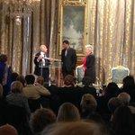 Dany Laferrière reçoit lépée des mains de J. dOrmesson: une amitié née dun coup de foudre, a dit le grand écrivain http://t.co/ZGmj0bZ5J3