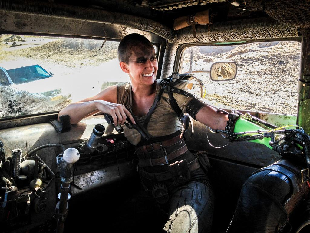 One of my MANY days in the wastelands as Furiosa Stunt Double on #MadMaxFuryRoad http://t.co/kxjI3PIAKt