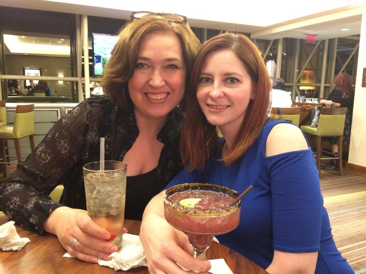 Dames in the wild! Dame Rinda and Dame Rachel at the bar. @RindaElliott @rachelkvincent http://t.co/72fDp7iZ9s