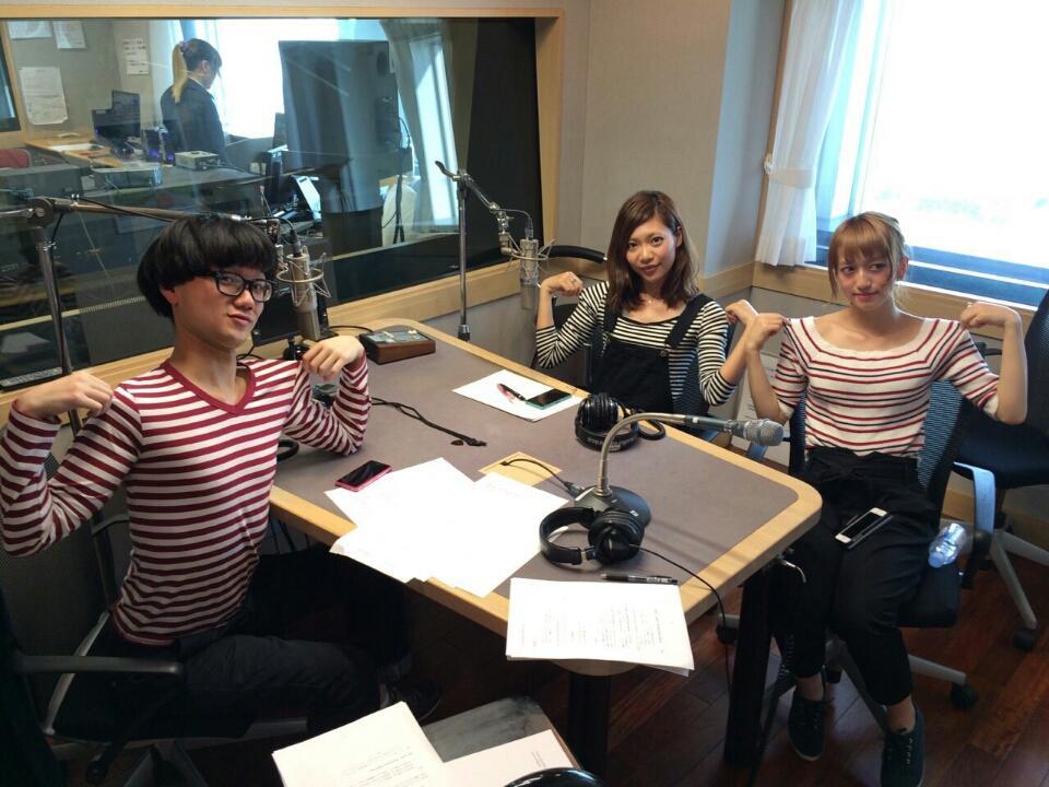 今夜24時からは~ bayfm 「Branding Hit TOKYO Bay」みんなラジオ聞いてねー! ボーダーを愛するメンバーでお届けします! 今日はオープニングでらむのお友達のバンドの曲を流そうと企んでいます(ФωФ) http://t.co/bfQxKOfmRU