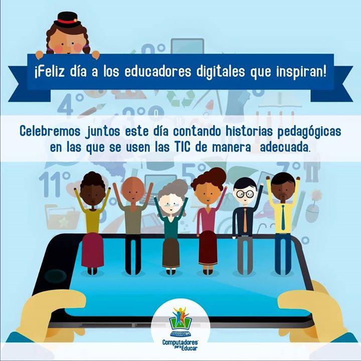 Feliz #DíadelMaestro para todos los docentes que inspiran el uso adecuado de las TIC en la educación. http://t.co/uqaRECsnbS
