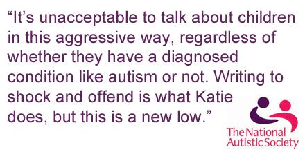 This is what we think of Katie Hopkins' tweets yesterday about #BornNaughty? See the response: http://t.co/jnR0mDTRAU http://t.co/iy00NriFhm
