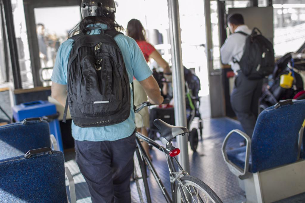Today through Fri 5/22, bring your bike on board for free to celebrate @transalt #BikeToWorkWeek! http://t.co/S7xSTyB2sD