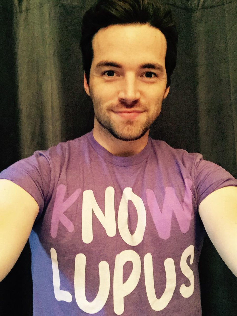 .@IANMHARDING joins us for #PutOnPurple! Wear purple & tell people why so others #KnowLupus http://t.co/4u7rA8E4tK http://t.co/gm57T7qhmQ