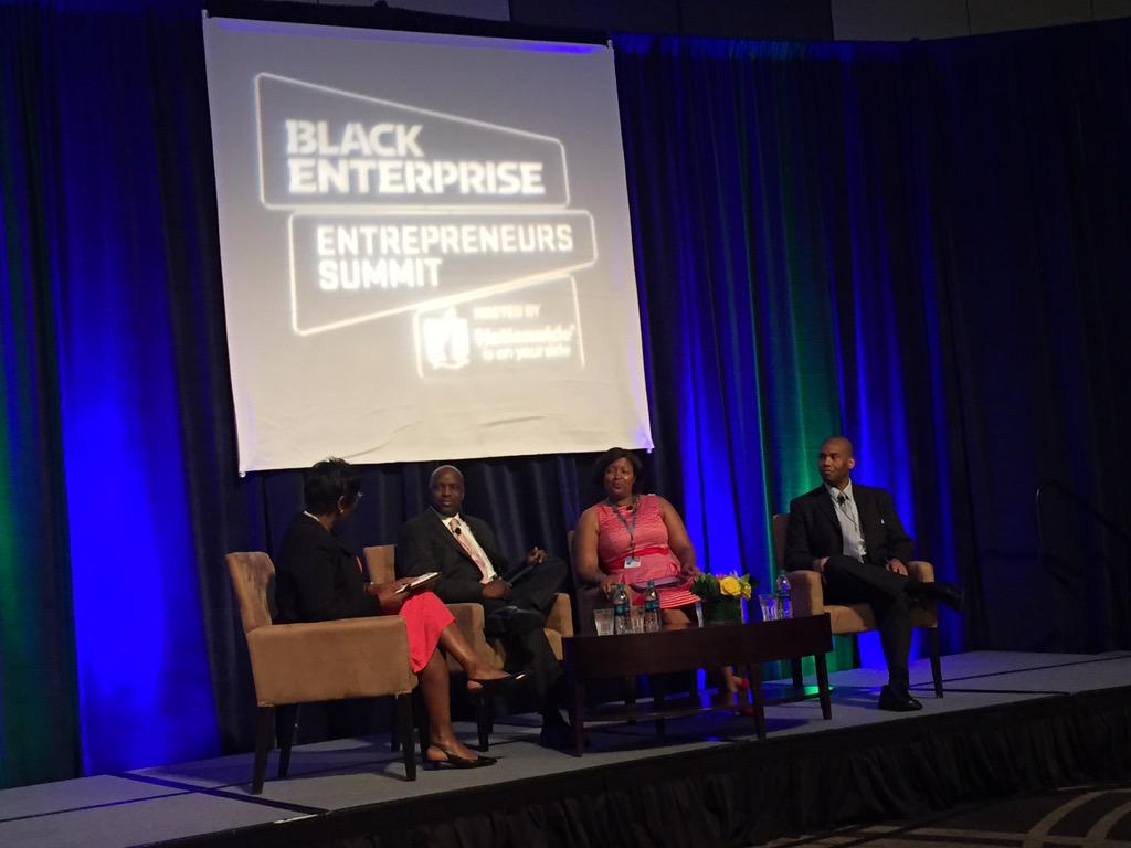 Back at #BESummit sitting in on a panel about how #SmallBizz owners can partner with corporate America @ATTSmallBiz http://t.co/gjISX9gUtR