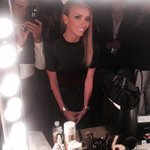 RT @danieldeleno: #NBCUpfronts Final touches before @GiulianaRancic hits the stage. #Hair @jcrawjc #Makeup @danieldeleno
