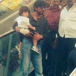 Shah Rukh Khan & AbRam Khan at High Street Phoenix Mall http://t.co/dbkp6iVXSL