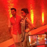 RT @Varun_dvn: Fun at #IndianIdolJunior with @ShraddhaKapoor #ABCD2Promotion #pagadi http://t.co/En8XQsaQel