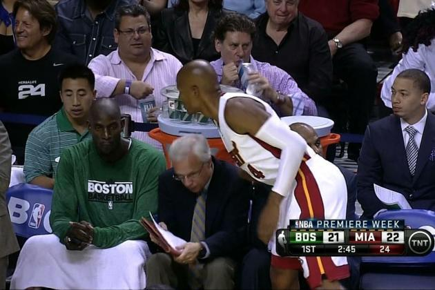 When KG ignored Ray Allen because he joined the Heat http://t.co/aq907FJip3