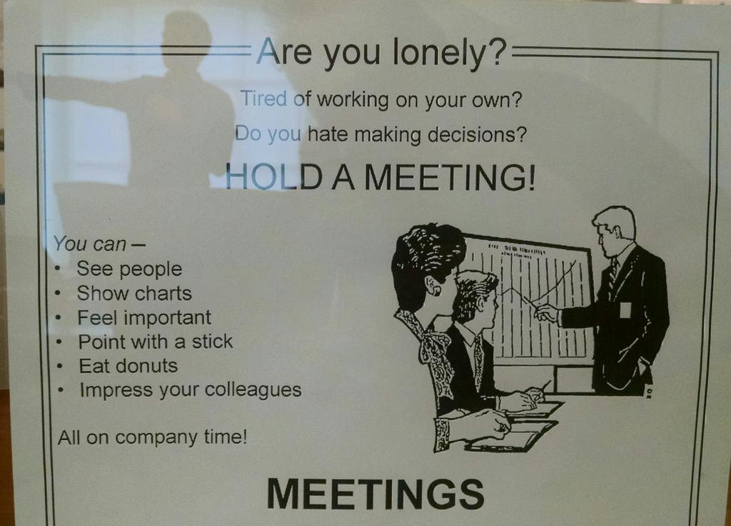 Hilarious poster @Qadium. Here it is ironic fun; should be up in many an office as a useful reminder :-) http://t.co/1tifbSHURA