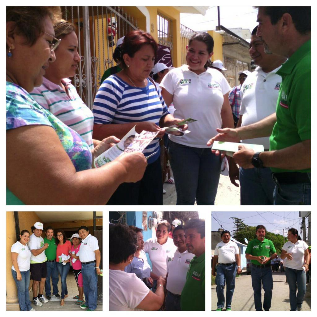 Un gusto recorrer nuevamente el Barrio de Santa Lucía, acompañando a @Edgarr_Hdez y @MiguelSulub #JuntosPorEl3 http://t.co/yO8jnQyAtj