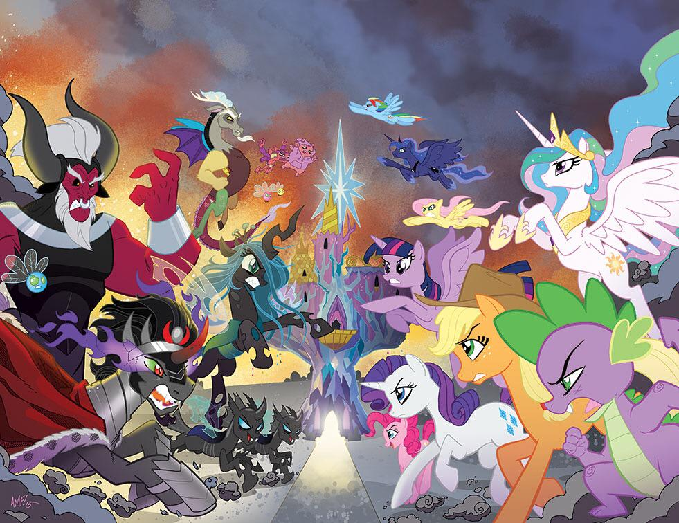 Thanks for the retweets! Here's the Hot Topic covers for #MLP 30 & 31. http://t.co/RYbrxI5FjT