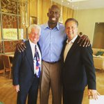 With Bo Outlaw and the Clippers' Dr. Kipper. http://t.co/N3ReMC5W9Y