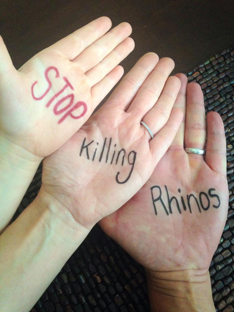 Please help. Please retweet. Let's Get this trending. #Rally4Rhinos http://t.co/DwfZoEzicK http://t.co/oiYOd3FaTq