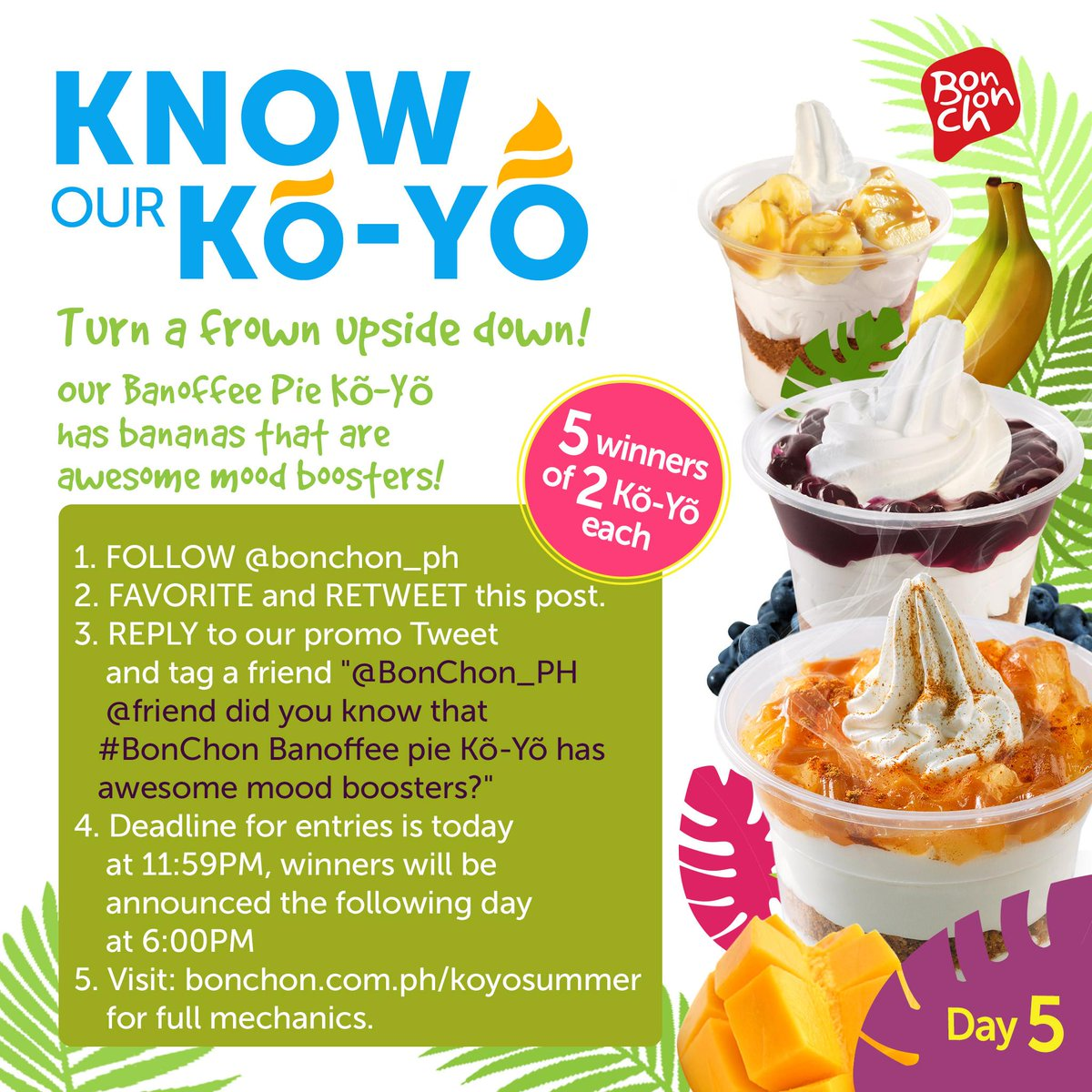 It's Day 5, here's something cool for everyone! Check out http://t.co/htpdgzrGx7 for full mechanics! #BonChon http://t.co/9FgiBxoxXl