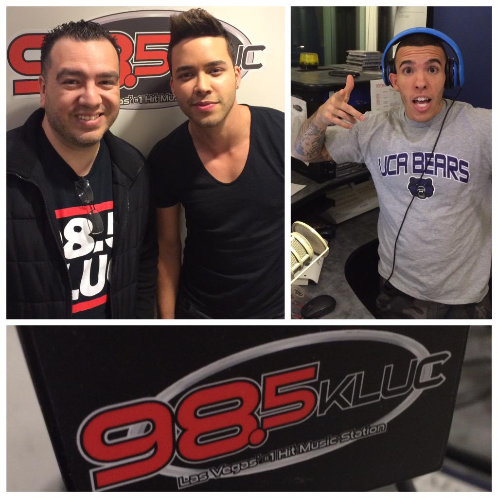 Thank you @PrinceRoyce for stoping by on a busy Friday night! @985KLUC @adiselevated @djco1 #Roycenaticas #Vegas http://t.co/NwVQAy041g
