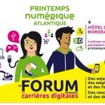 PierreNIJHOUT2: RT BSFILIGOI: Printemps numérique Atlantique les 29 et 30 mai #Bordeaux #digital #emploi  … http://t.co/QZikhdlimj