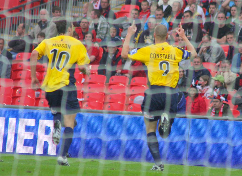 Hard to believe this was 5 years ago, something I will never forget! An amazing day, to score and get promoted! ⚽️