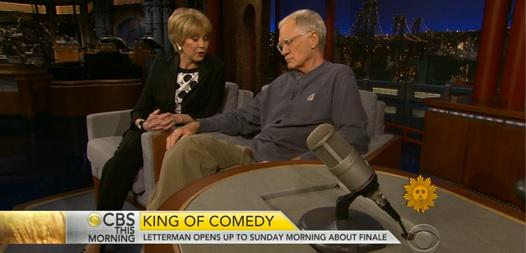 Dave's only TV interview about LATE SHOW close is w/Jane Pauley this wknd @CBSSunday. http://t.co/zc5lBQqDVm http://t.co/ES7mbMcnUn