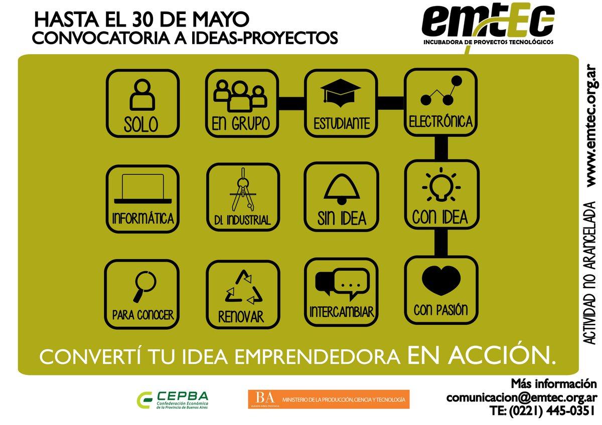 Convocatoria 2015 de Ideas-Proyectos - Formación de #Emprendedores #asistencia  #LaPlata http://t.co/sJgrIVtOUU http://t.co/Wth2eB8xr1