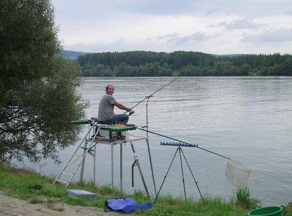 Рыболовная платформа своими руками