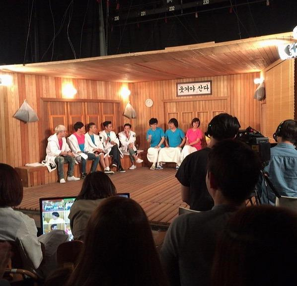 #BIGBANG Filming for Happy Together. From baraestar's Instagram http://t.co/hhK8B4pBDI
