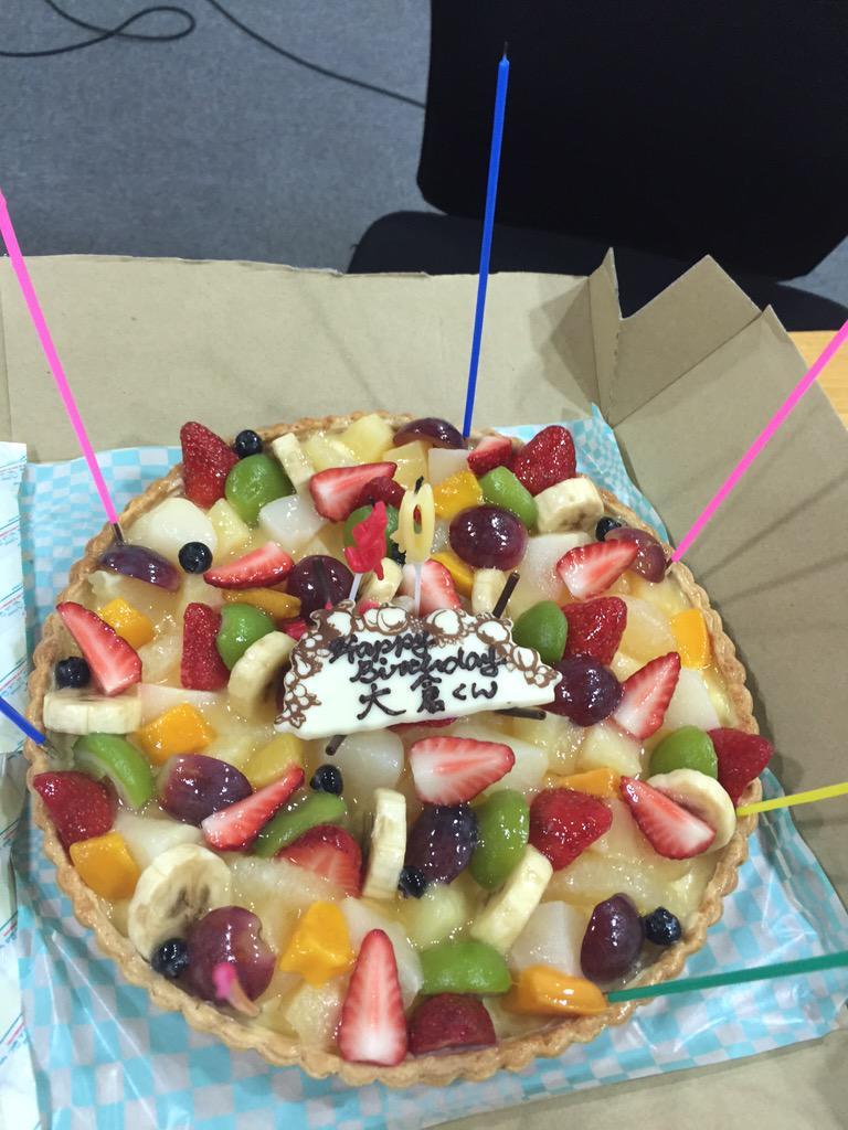 ケーキ!  #大倉くんと高橋くん http://t.co/IyNbDhYuuh