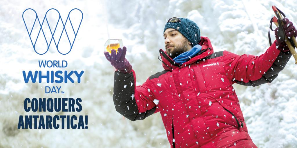 Today #WorldWhiskyDay will be celebrated on every continent on Earth - including Antarctica! http://t.co/G39HNmuBPt http://t.co/TK63z0uPIL