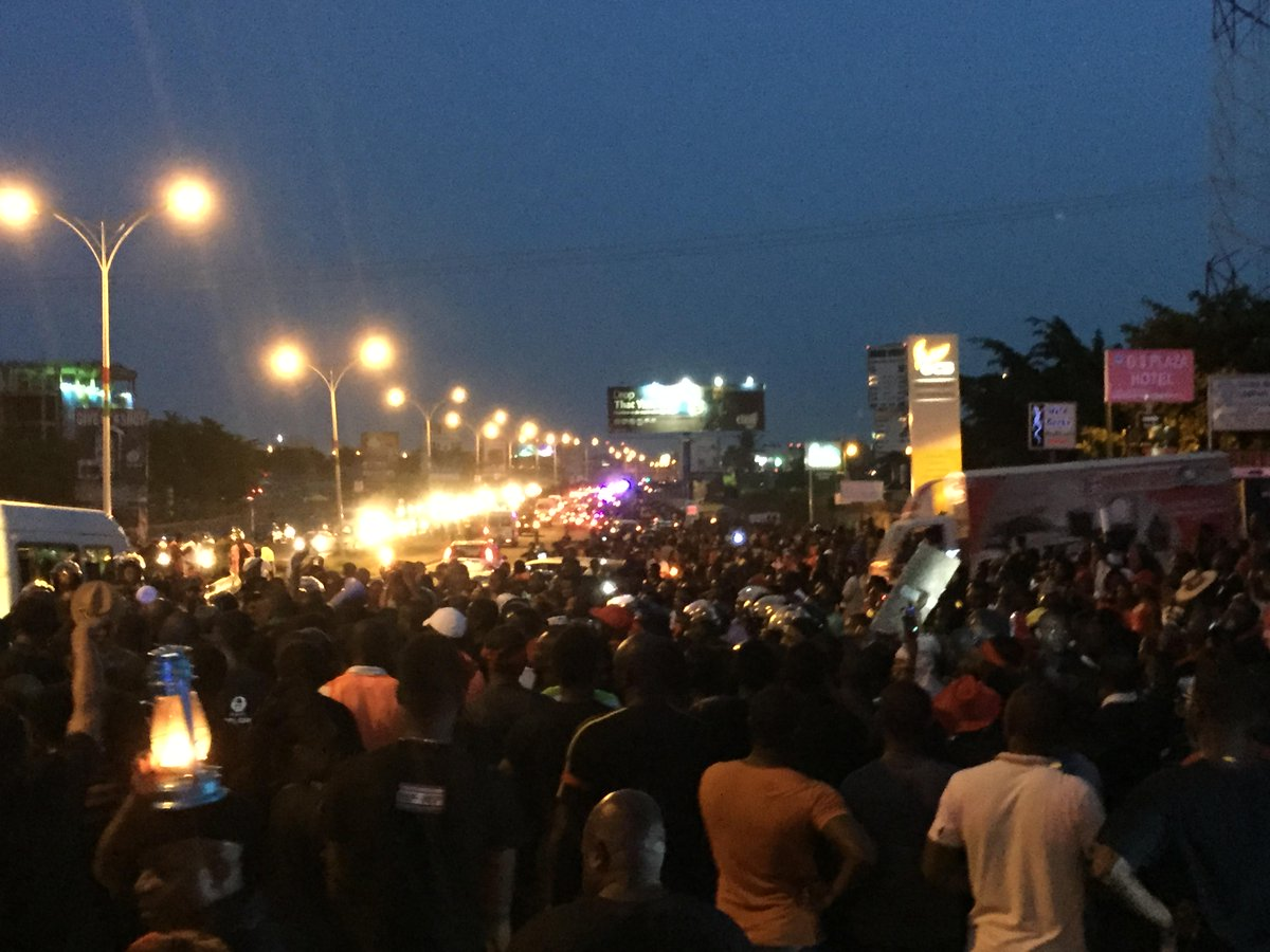 We might not have 1 million people but we've sent our message. This is not the Ghana we ought to be. #DumsorMustStop! http://t.co/2mqi1SJx7y