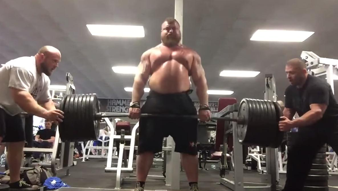 eddie hall weight