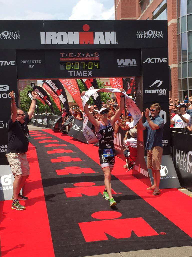 *****CONGRATULATIONS!!! @matthansontri taking the win at #IMTX with a COURSE RECORD and a scorching run!!! #triathlon http://t.co/Em3CfLLd8N