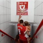 Steven Gerrard is our captain Steven Gerrard is a Red Steven Gerrard plays for Liverpool, a scouser born and bred.  http://t.co/m6AZuhIdJG