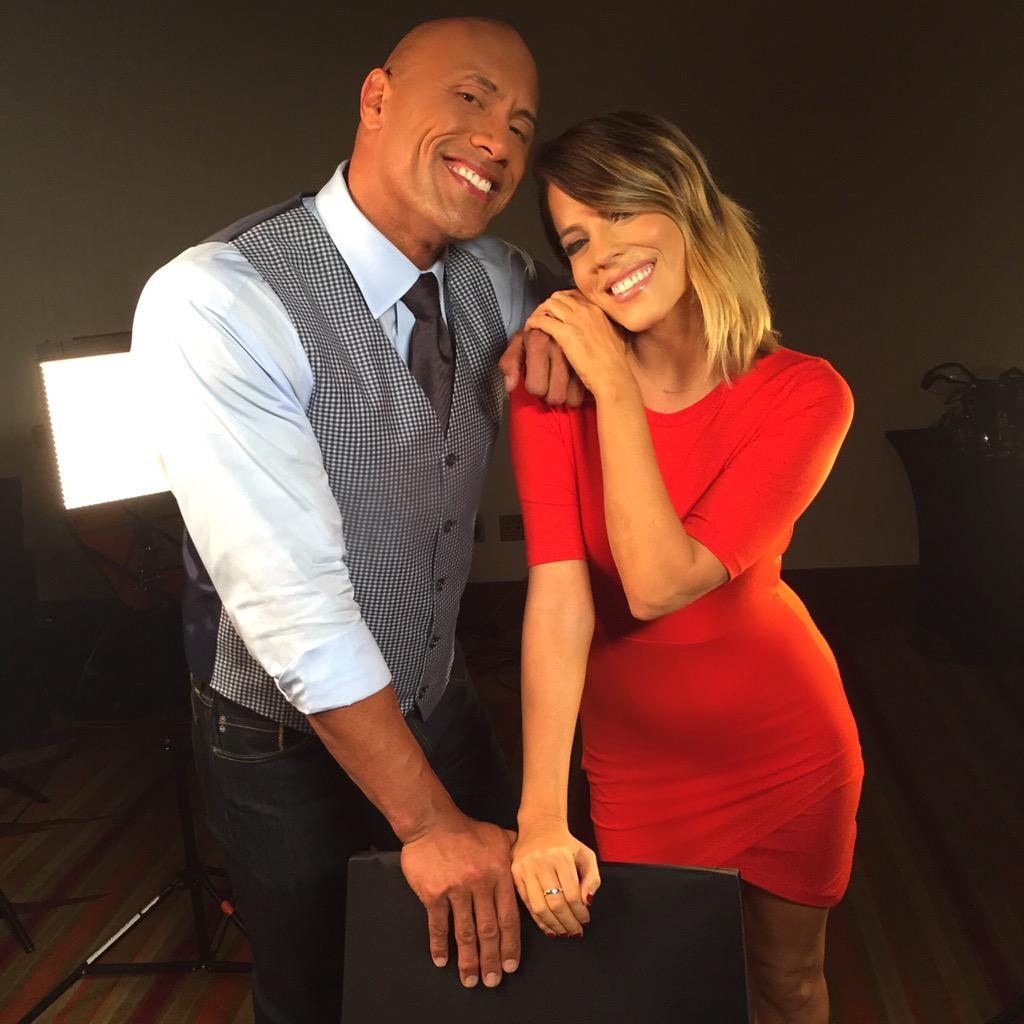 I'll say it a million times- @therock is the GREATEST guy in Hollywood. You leave him a better person. #SanAndreas